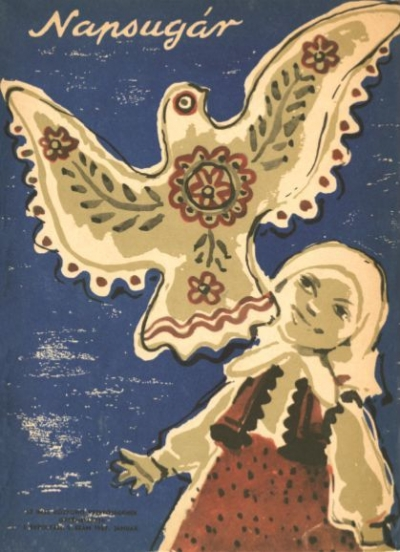 A Napsugár gyermeklap legelső számának címlapja