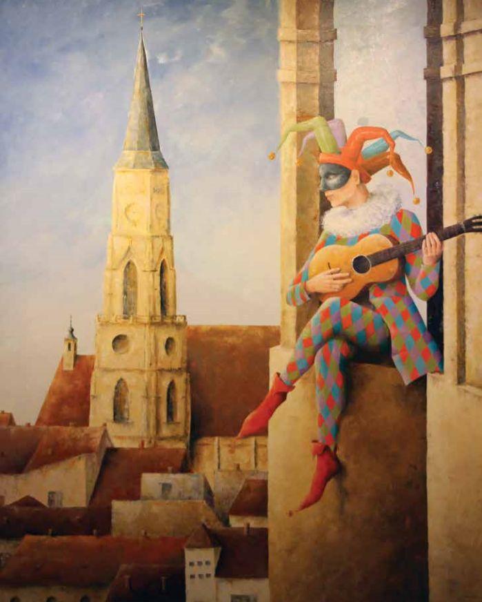 Dolha Éva festménye