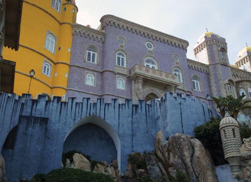 A Pena-kastély Sintrában