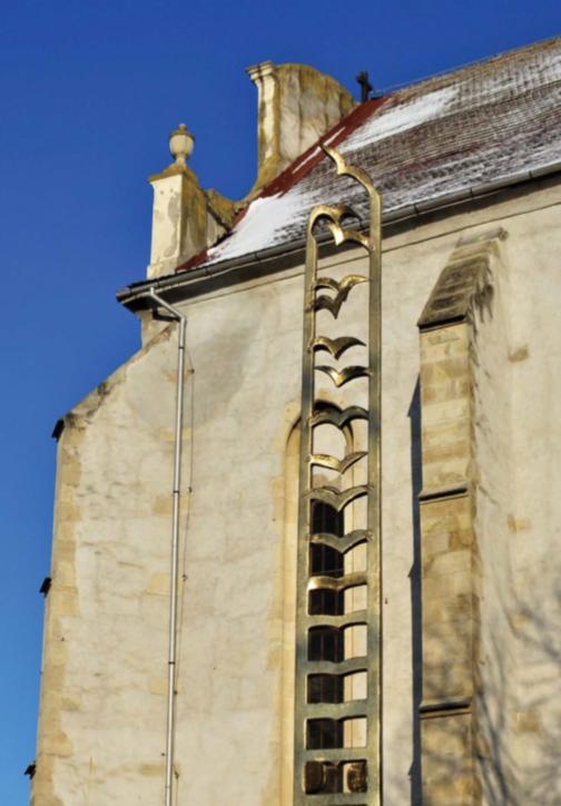 A vallásszabadság emlékműve Tordán