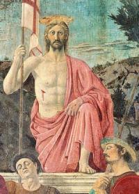 Pierro della Francesca: Feltámadás (részlet)