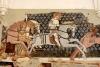 600 éves freskók a székelyderzsi templomban