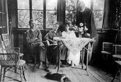 Reményik Sándor és családja