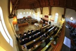 Ünnepi istentisztelet az Írisz-telepi református templomban