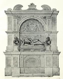Wesselényi Ferenc egykori síremléke