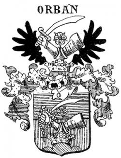 Orbán Elek, családi címer