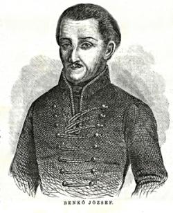 Benkő József, lelkész, történetíró, botanikus, nyelvész