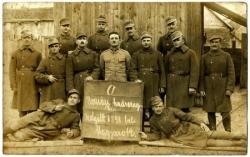 Nagymedvés katonák