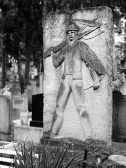 Kósa-Huba Ferenc: Antal Dániel síremléke