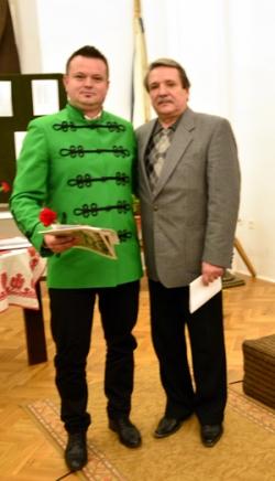 Nagy Levente (balról) és Köllő Ferenc