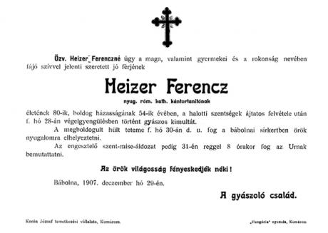 Heizer család, Tihany